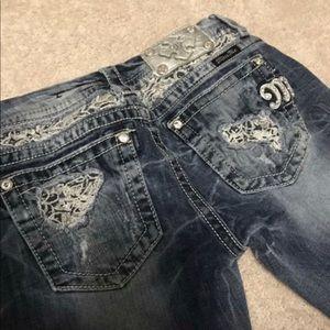 Womens MissMe Signature-Rise Boot Jeans- Size 27